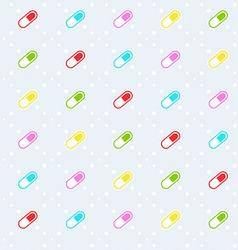 Pills seamless pattern vector