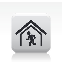 security exity icon vector image