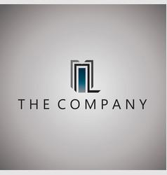 Building logo ideas design on vector