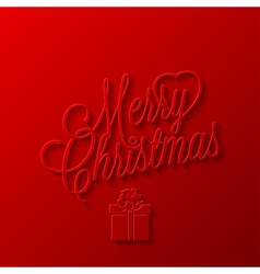 Holiday frame happy merry christmas new year vector