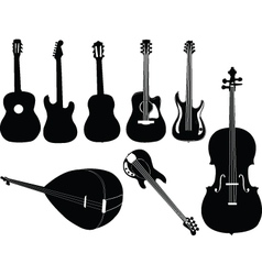 Music instruments 2 vector