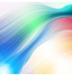 Abstract technology futuristic lines background vector image vector image