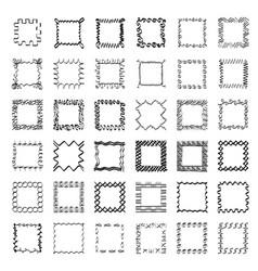 Ethnic patterns or frames vector