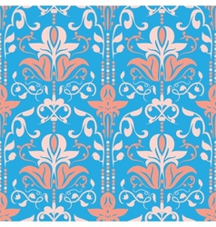 Rococo Seamless Pattern vector image vector image