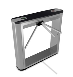 Box tripod turnstile vector