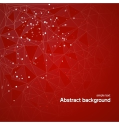Abstract background with lines circles EPS 10 vector image