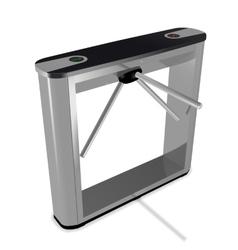 Box tripod turnstile vector image