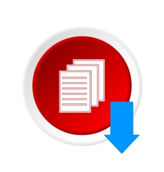 File download button vector