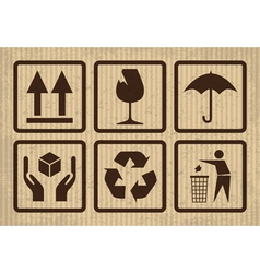 Fragile symbols vector