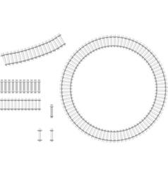 Railway constructor vector