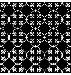 seamless de lis vector image vector image