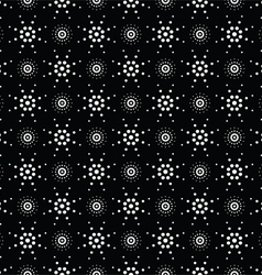 Seamless pattern of symbolic stars 7 vector