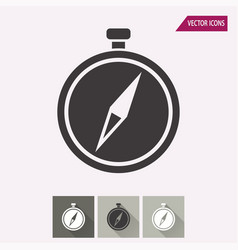 Compass - icon vector