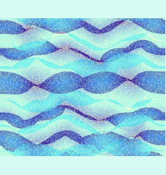 Blue water waves background vector
