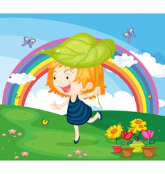 Cartoon vector image vector image