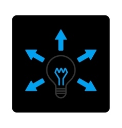 Idea icon vector image