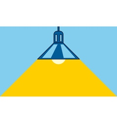 Lamp and light vector