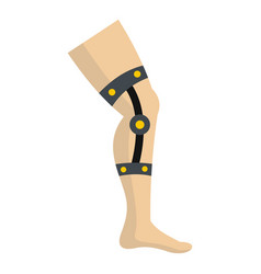 Retentive bandage icon isolated vector