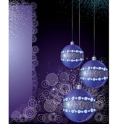 Magical New Years background vector image