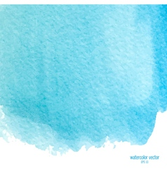 blue watercolor squarer background vector image