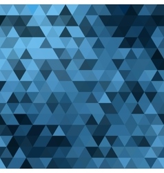 Triangle blue vector