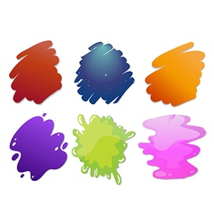 Colorful wave lines vector image vector image
