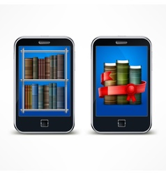 Electronic reader vector image vector image