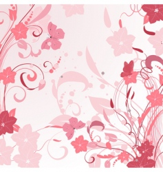 floral sprays vector image