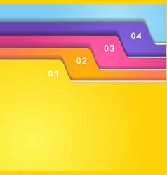 Folder tab set vector image