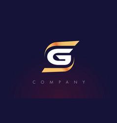 G letter logo design modern letter template vector