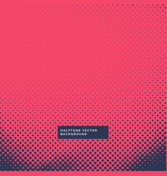 Modern halftone background with trendy colors vector