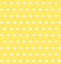 popular yellow vintage dots abstract pastel vector image