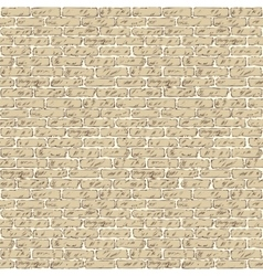 Seamless Pattern with Brick Wall vector image vector image