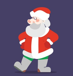 Santaclaus without bag color vector