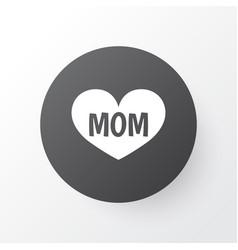 Mom icon symbol premium quality isolated text vector