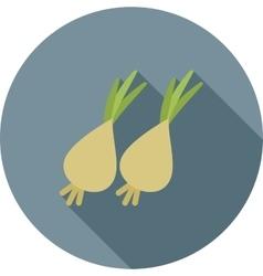 Spring onion vector