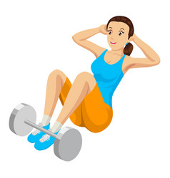 Fitness exercising vector