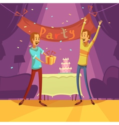 Friends And Party vector image vector image