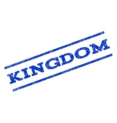 Kingdom Watermark Stamp vector image