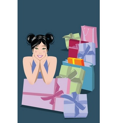 mom gifts vector image vector image