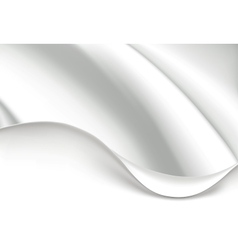 White wave background vector