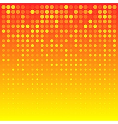 Abstract Bright Orange Background for your design vector image