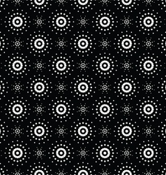 Seamless pattern of symbolic stars 8 vector