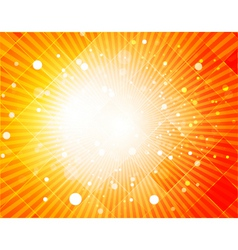 Digital rays vector