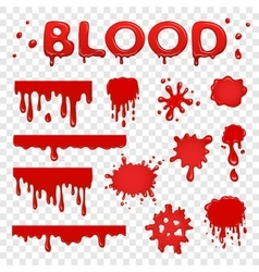 Blood splat collection vector