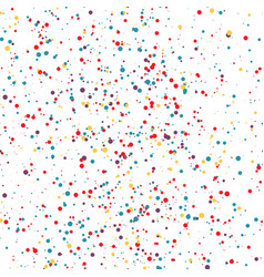 seamless pattern colorful dots confetti vector image