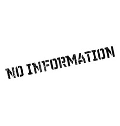 No information rubber stamp vector