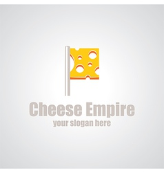 Cheese empire logo vector