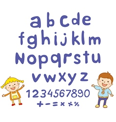 Abc for kids alphabet kids children fun vector