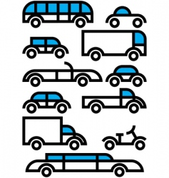 city transportation vector image